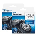 Norelco SH50/52 (2 Pack) Shaver Replacement Head