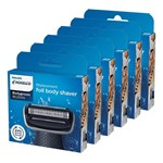 Norelco BG2000 (6 pack) Replacement Combo Pack
