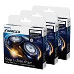 Norelco Rq11 (3-pack) Arcitec Razor Replacement Heads