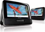 """""""Philips PD9012 Factory Serviced Includes 90 Days Warranty, The Philips PD9012 is the portable DVD player with large 16"""