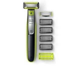 Norelco Body Groomers norelco oneblade face + body hybrid electric trimmer and shaver qp2630/70