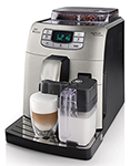 """""""Saeco Intelia HD8753 Brand New Includes One Year Warranty, The Saeco HD8753 is a perfect espresso with pre-brewing function for flavor enhancing"""