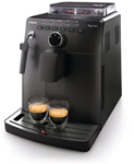 """Saeco Intuita Black HD8750 Brand New Includes One Year Warranty, The Saeco Intuita Black HD8750 is a perfect one touch espresso coffee machine offers you to taste freshly ground espressoat touch of a button, aroma selection, easy to use and clean"